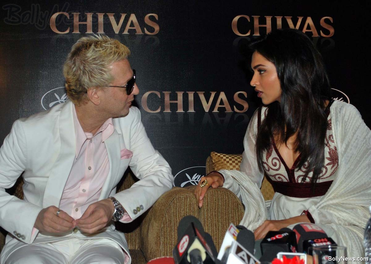Rohit Bal and Deepika Padukone