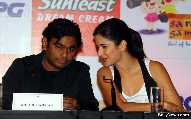 A.R.Rahman and Katrina Kaif