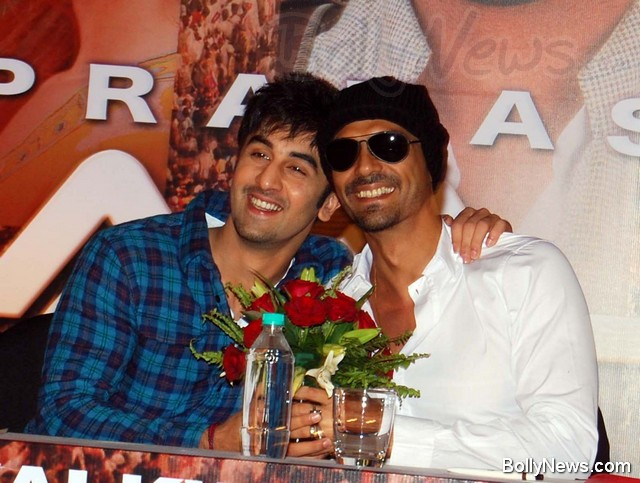 Ranbir Kapoor and Arjun Rampal