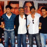 Katrina Kaif, Ranbir Kapoor, Prakash Jha, Arjun Rampal and Manoj Bajpai