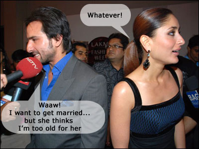 Saif Ali Khan Kareena Kapoor Wedding