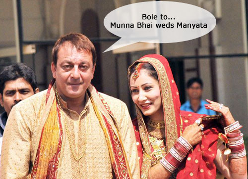 Sanjay Dutt Wedding