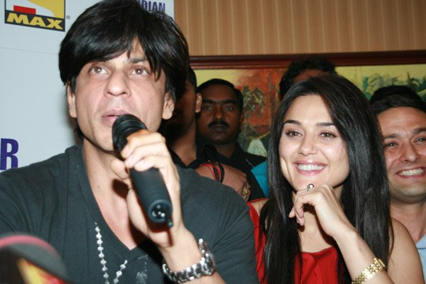 shahrukh khan and preity zinta ipl