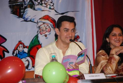 Aamir Khan at Children's Story Book Launch
