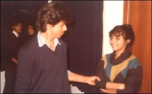 Shahrukh with wife Gauri