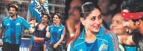 Kareena and Saif at IPL