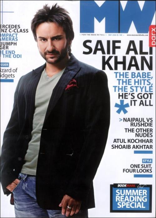 Saif Ali Khan Man's World