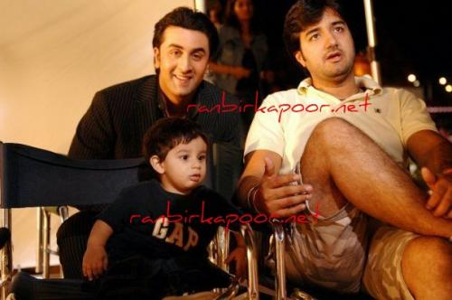 Ranbir Kapoor on the sets of his upcoming movie Bachna Ae Haseeno in