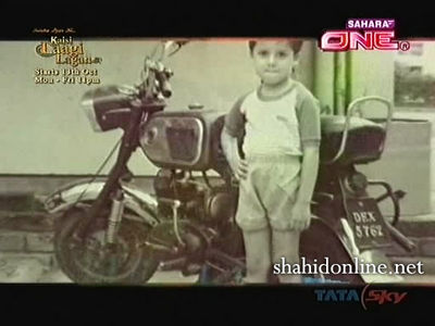 shahid kapoor childhood