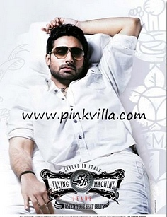 Abhishek Bachchan flying machine