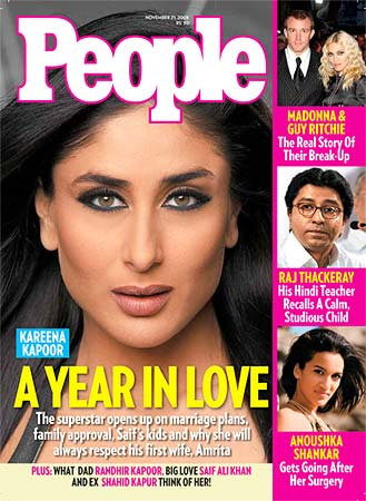 Kareena Kapoor people's magazine