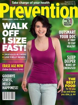 gul panag on prevention magazine cover