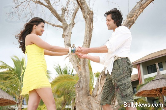 Bobby Deol and Mugdha Godse in help film