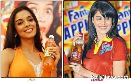 asin and genelia