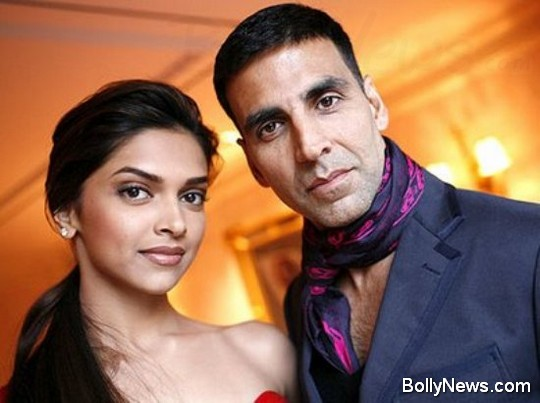 deepika padukone and akshay kumar 