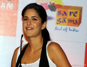 katrina kaif at launch of Rhyme Skool Kids Album