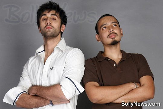 Ranbir Kapoor and Rohan Shrestha