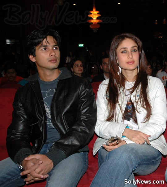 Shahid and kareena together