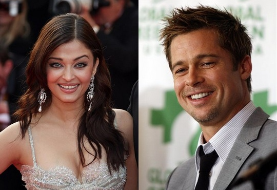 aishwarya rai and brad pitt