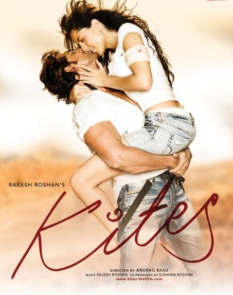 kites poster hrithik barbara