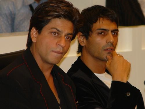 shahrukh khan and arjun rampal